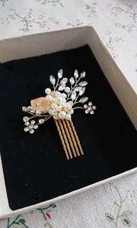Wedding hair accessories 結婚新娘頭飾