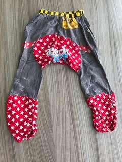 全新 星星圖騰長褲(90碼) 非包屁衣 嬰兒連身衣 兔裝 洋裝 外套 T恤