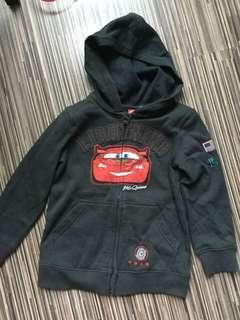 Bnwt size 6 unisex Cars cardigan jacket
