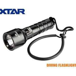 XTAR D06 Diving Flashlight Cree L2 U2 LED 900流明 潛水 電筒 - 原裝行貨