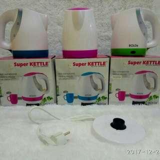 Bolde super kettle, bolde teko listrik, pemanas air, masak air panas
