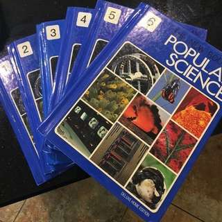 The New Book of Popular Science (6 Volumes) by Bernard S. Cayne