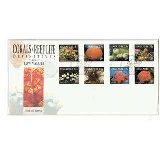 FDC #171  C0rals & Reef Life Definitive Low Values