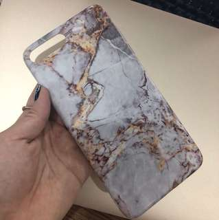 iPhone 7+/8+ Grey Marble Softcase