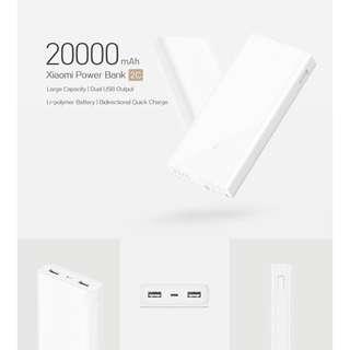 Xiaomi Powerbank 2C 20000mah