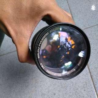 (Vintage Lens) Vivitar Zoom Lens 80-200mm f/4.5