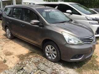 Nissan Grand Livina 1.8 Auto 2013 Sambung bayar 0192057878