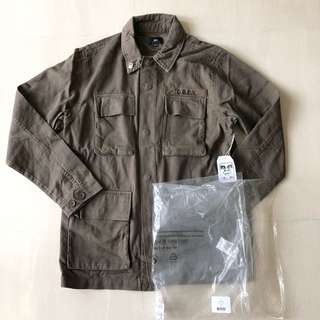 Obey Faded Military Jacket