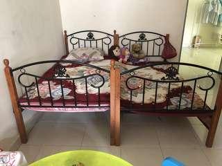 Katil single / bunk bed
