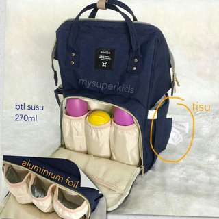 diaper bag tas popok  bayi backpack ransel