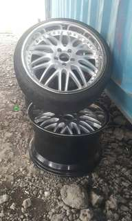 "BMW offset wheels 19"" Rear 11jj"