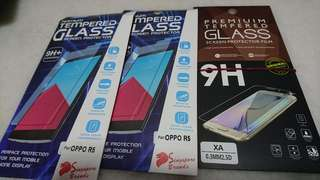 Tempered Glass - Oppo and Sony