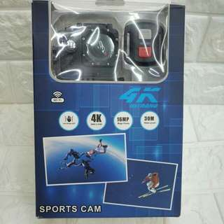 4K actioncam with remote