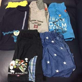童褲(五件一同出售)