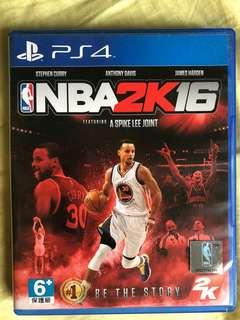NBA2k16 ps4  中英文版