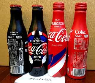 Coca Cola Coke Zero EUR0 2016 alu. Rare
