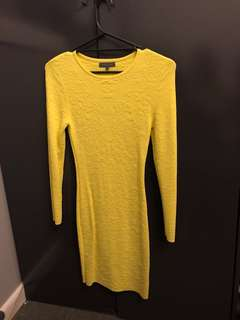 Sheike dress yellow
