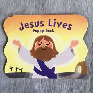 Jesus Lives Pop Up Book