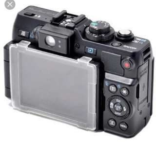 JJC Canon G1X LCD cover
