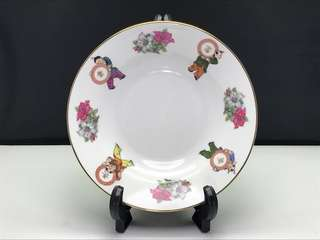 "BK Tong Zi deep plate 8"" - Made in China"