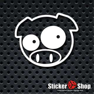 Subaru Pig Decals