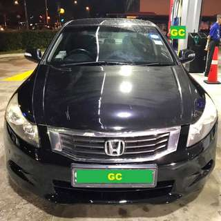 Honda Accord RENTING OUT CHEAPEST RENT FOR Grab/Personal USE