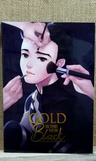 Yuri On Ice Doujin illustration book-Gold is the new black by Circus Usagi