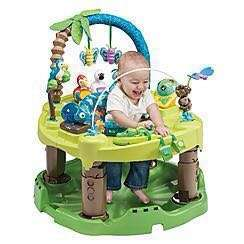 Evenflo ExerSaucer Triple Fun Activity Learning Centre, Jungle