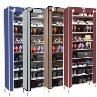 Tier Shoe Rack Cover Cabinet + Free Gift