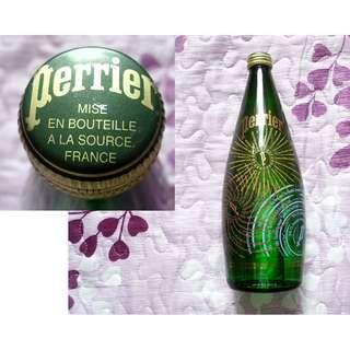 03年Perrier紀念版玻璃蒸餾水樽