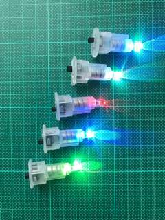 全新彩色LED燈一套x5 / Rainbow LED lights set