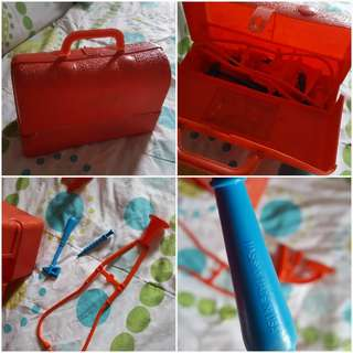 Doctor's bag and accessories