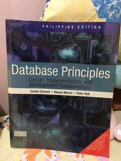 Database Principles - Carlos Coronel • Steven Morris • Peter Rob