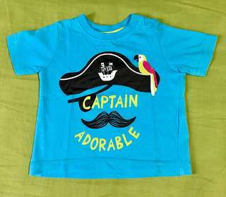 Like new! Baby boy t-shirt size 3-6months..