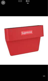 Supreme car gap storage holder sleeve