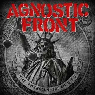 Agnostic Front ‎– The American Dream Died CD