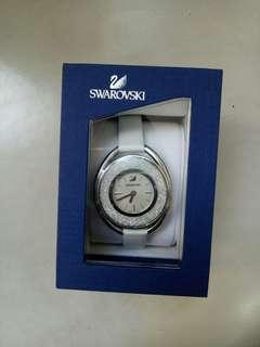 Swarovski Crystalline Oval White Ladies Watch 5206145 - intl