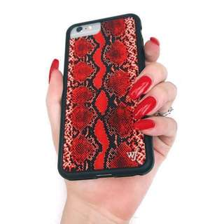 🚚 Wildflower 蟒蛇紋 手機殼 iPhone 6/6S/7/8 適用