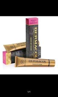 Dermacol makeup cover and Dermacol eyebrow bandle