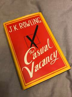 The casual Vacancy by J.K. Rowling (hardcover)