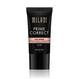 ❄️ Milani ❄️ Prime Correct Diffuses Discoloration + Pore-Minimizing Face Primer