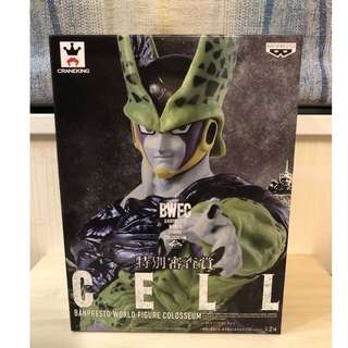 DRAGON BALL Z GT KAI BWFC CELL World Figure Colosseum Figures BANPRESTO