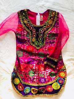 Girls dress indian style