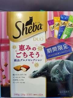 日本直送 sheba春季限定 現貨 貓小食