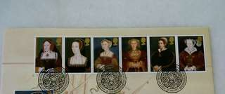GB UK Englang Tudor Stamps & Special Postmark #1