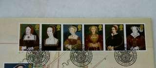 GB UK England Tudor Stamp & Special Postmark #2