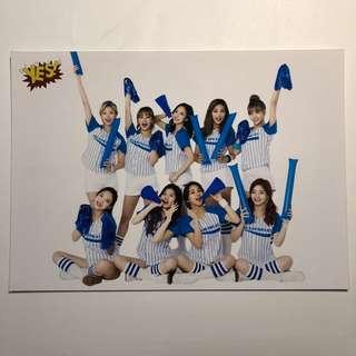 Twice Yes! card 精品 5R相