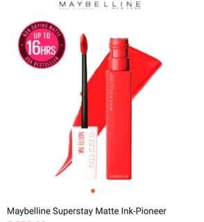 Maybelline Superstay Matte Ink - Pioneer