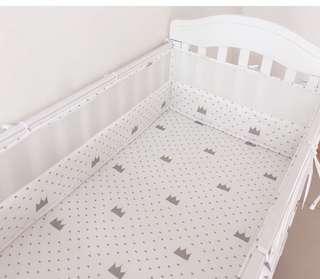 嬰兒床 bb純棉床圍 床欄