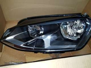 VW Golf Head Lamp Left Original
